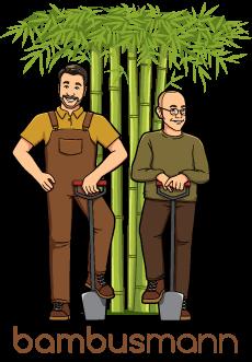 Bambusmann | Bambus | Begleitpflanzen | Shop Logo